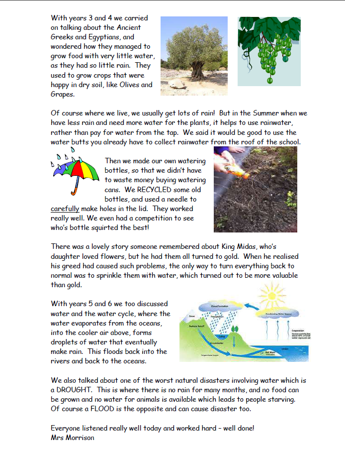 page two of sample report - st matthews 17th Sept 2015
